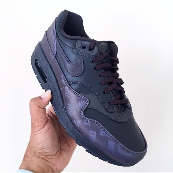 Women Nike Air Max 1 LX Oil Grey Size 6.5 NWT